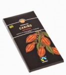 Bio Czekolada Carino Gorzka 70% Orange 100g  Fairtrade