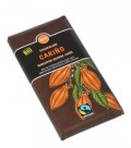 Bio Czekolada Gorzka Carino Marcepan Likier Orange 100g Fair Trade