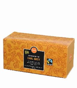 Bio Herbata Earl Grey czarna 43.75g (25x1,75g) Fair Trade